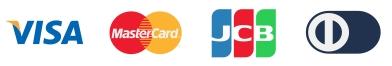 クレジットカードの対応ブランド